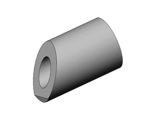 фото бобышки со скосом для монтажа термометров - Энергоприбор