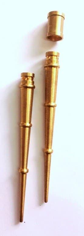 фото наконечника аксельбанта с торообразным декоративным буртиком - Энергоприбор