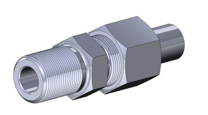 фото соединения ниппельного ввертного - Энергоприбор