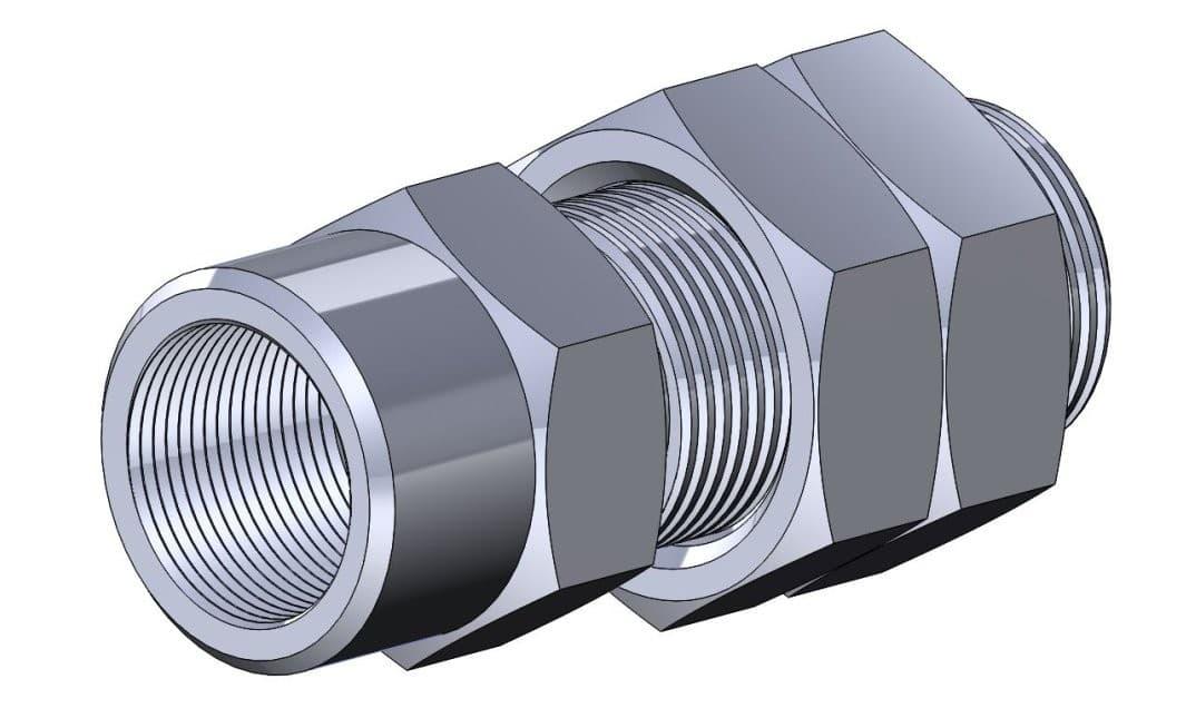фото соединения ниппельного переборочного - Энергоприбор