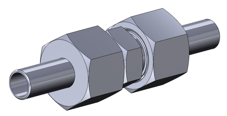 СШП Соединение с шаровыми ниппелями проходное