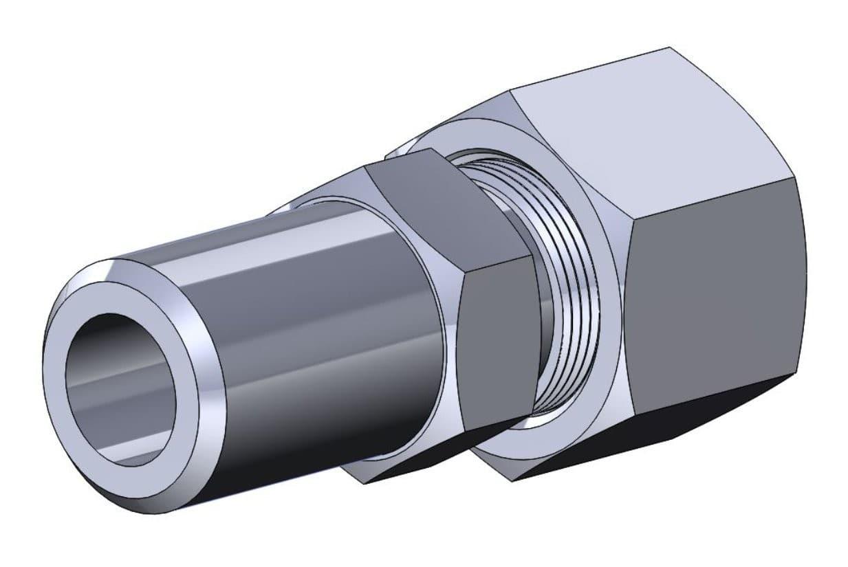 фото соединения с врезающимся кольцом приварным - Энергоприбор