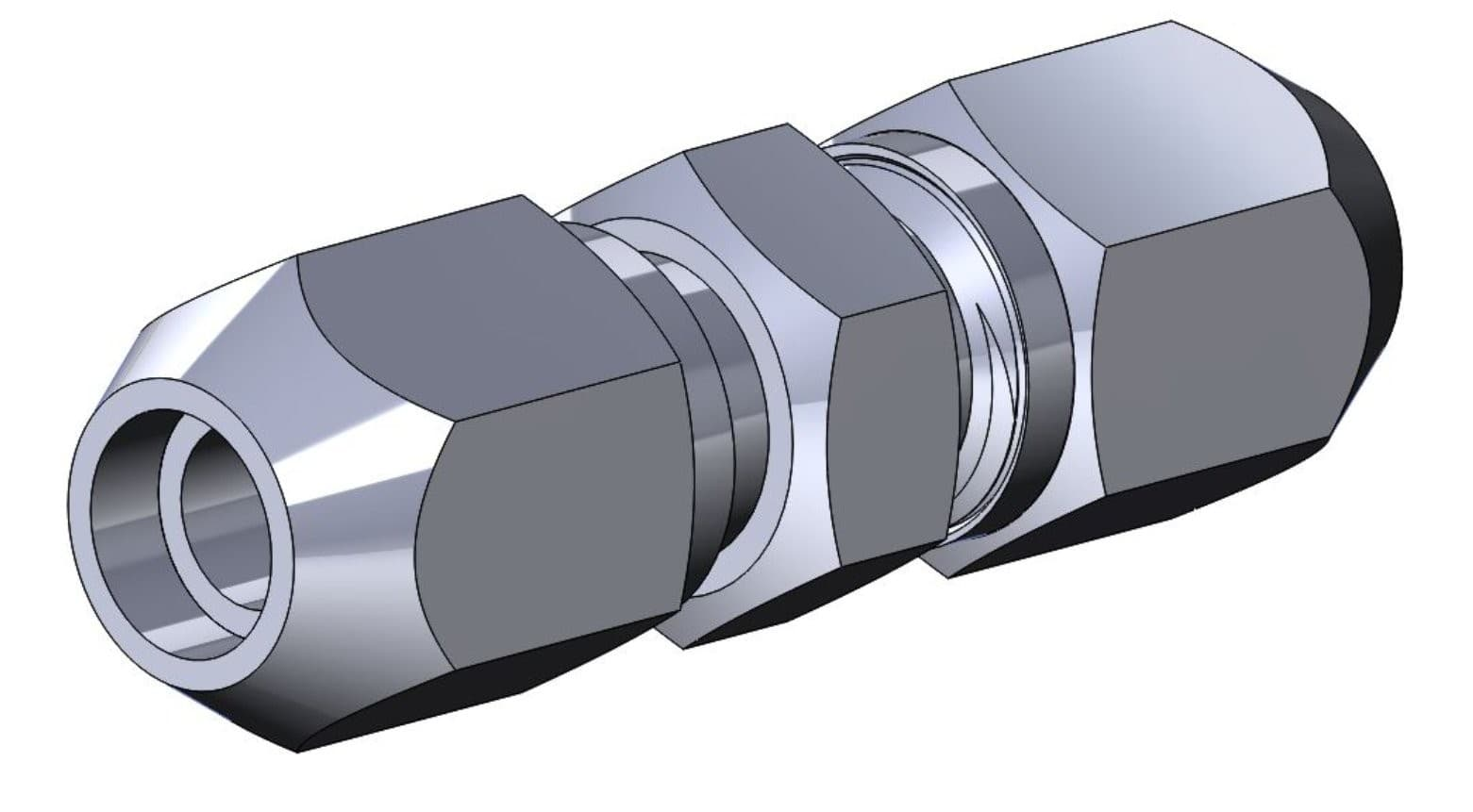 СМ8 Соединения труб с развальцовкой проходное